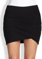 James Perse Knit Mini Skirt