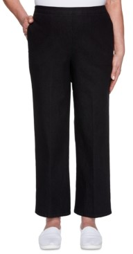Alfred Dunner Checkmate Pull-On Jeans