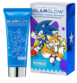 Glamglow Sonic Blue Gravitymud Firming Treatment 15g - Tails Collectable
