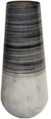 Sagebrook Home Metal Alabastron Vase