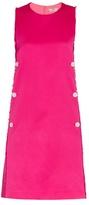 Edun Frayed satin dress