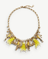 Ann Taylor Star Charm Statement Necklace