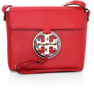 Tory Burch Miller Stained Glass Leather Crossbody Bag