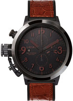 U-boat 7094 Flightdeck Black Ceramic Watch