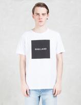Soulland White Soulsquare T-shirt W.print