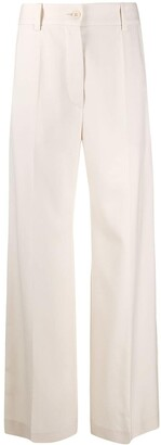 Patou Wide-Leg Virgin Wool Trousers
