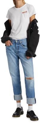 Rag & Bone Rosa Mid-Rise Boyfriend Jeans