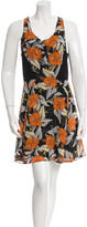 Proenza Schouler Silk Printed Dress