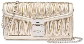 Miu Miu matelassé lock mini-bag