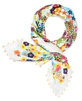 Tory Burch Floral Neckerchief