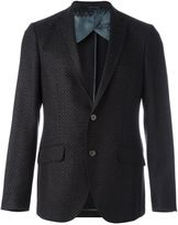 Etro dotted pattern blazer - men - Silk/Acetate/Viscose/Wool - 52