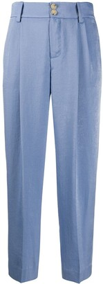 Vince Satin Tailored Trousers