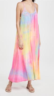 9seed Tulum Dress Neon Tie Dye