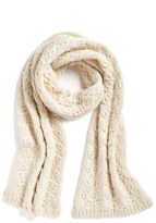 Caslon Cable Knit Muffler