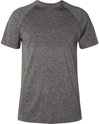 Reigning Champ Perforated Melange Jersey T-Shirt