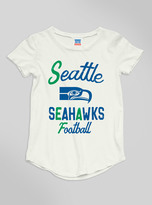 Junk Food Clothing Kids Girls Nfl Seattle Seahawks Tee-sugar-l