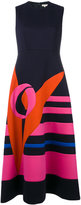 DELPOZO printed flared dress