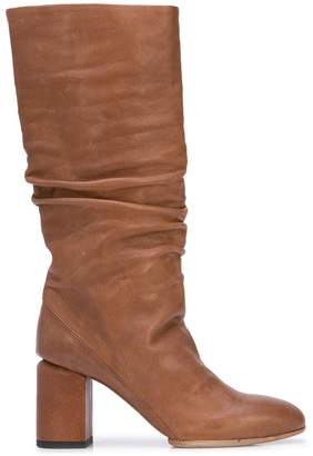 Officine Creative knee-length ruched boots