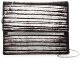 Vince Camuto Mavil Metallic Clutch