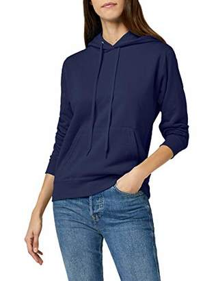 Fruit of the Loom Women's Pull-over Classic Hooded Sweat, Navy, 12 (Manufacturer Size:)
