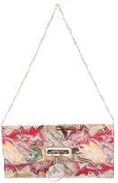 Christian Louboutin Marble Riviera Clutch