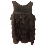 Marc Jacobs Anthracite Silk Dress