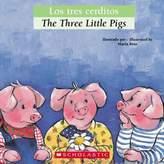 """Scholastic The Three Little Pigs/Los Tres Cerditos"""" (English/Spanish)"""