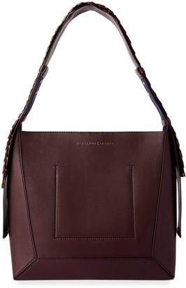 Stella McCartney Medium Eco Braided-Strap Hobo Bag