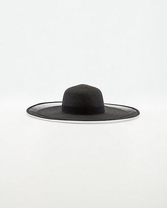 Le Château Floppy Straw Hat