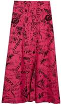 Burberry doodle print skirt