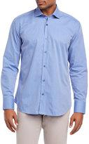 Bogosse Stripe-and-Dash Button-Down Shirt
