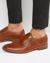 Aldo Henacien Leather Monk Shoes