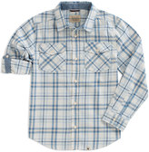 Lucky Brand White Cloud Plaid Button-Up - Toddler & Boys