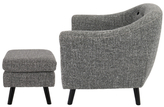 Lumisource Rockwell Mid-Century Chair and Ottoman Set (2 PC)