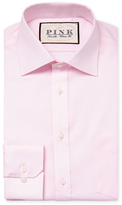 Thomas Pink Classic Fit Solid Oxford Traveler Dress Shirt