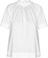 Marni Tie-back jersey blouse
