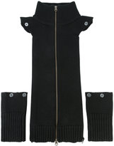 Veronica Beard bib and cuff deconstructed cardigan - women - Wool - One Size