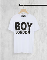 Boy London-print Cotton-jersey T-shirt
