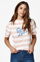 La Hearts Good Luck Striped T-Shirt