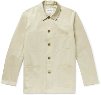 Odyssee Hayes Cotton And Silk-Blend Chore Jacket
