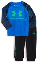 Under Armour Infant Boy's Speedlines Core T-Shirt & Pants Set