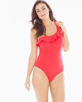 Soma Intimates Remix Ruffle One Piece Swimsuit