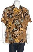 Brioni Floral Print Shirt
