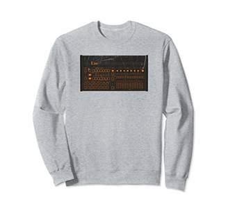 Drum Machine Synthesizer Analog Synth Retro Gear Vintage Sweatshirt