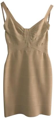 Herve Leger Ecru Dress for Women