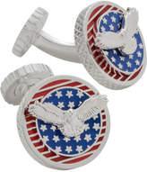 Tateossian USA Flag Eagle Cufflinks