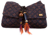 Louis Vuitton Monogram Metisse African Queen Clutch