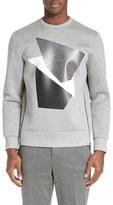 Neil Barrett Men's Modernist Blocking Sweatshirt