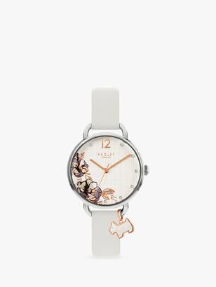 Radley Women's Sketchbook Floral Leather Strap Watch