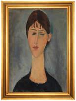 Munn Works Modigliani - Portrait of Mme Zborowska Art